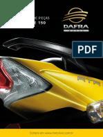 Catalogo de Pecas Dafra Apache 150