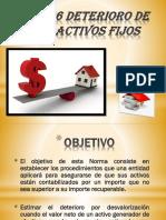 NIC–36 DETERIORO DE LOS ACTIVOS FIJOS.-1.pptx