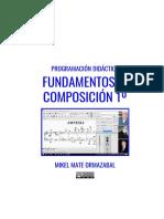 Programación Didáctica Fundamentos de Composición 1º