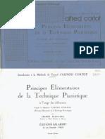 Cortot - Introduction a La Methode de Travail - Pour Debutants - By Jeanne Blancard