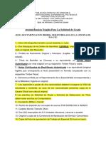 Documentación Exigida Para La Solicitud de Titulo y de Grado (NUEVA) - Copia