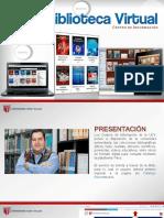 Biblioteca Virtual ucv 2019