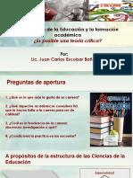 ponencia formación académica