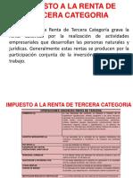 Impuesto a La Renta de Tercera Categoria 2019