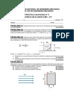 Sección a-tercera Práctica Calificada-mecánica de Fluidos II