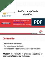 7 Hipotesis Variables Operacionalización 1