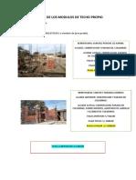 Avanze de Los Modulos 060719