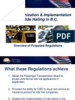 Ride-hailing regulation overview