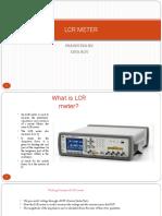 Solar Lcr Meter
