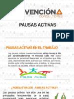 PRESENTACIÓN PAUSAS ACTIVAS