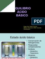Equilibrio ácido básico