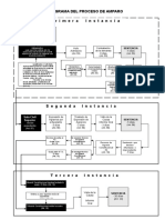 Flujograma  Del Proceso de Amparo
