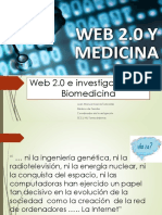 Web 2.0 Aplicado a Medicina