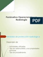 Parámetros Operacionales Radiología (Distancia, Tiempo y Blindaje)
