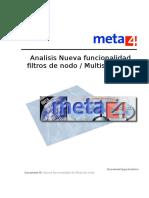 Analisis Nueva Funcionalidad Filtros Nodo Multiseleccion