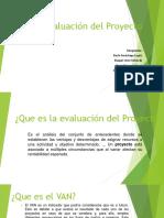 Evaluacion Del Proyecto