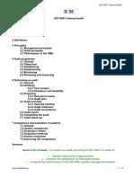 ISO 9001 Internal Audit (Training Material)