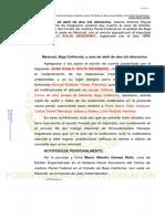 06-Abril-18 Imputado Designa Defensor Particular y Se Le Requiere