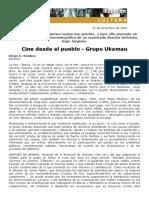 Cine Desde El Pueblo - Grupo Ukamau