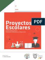 INSTRUCTIVO DE PROYECTOS ESCOLARES
