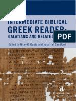 Galatians Greek Reader