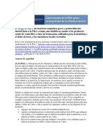 Benzocaine DSC Clean Spanish