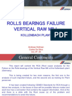Rolls Bearings Failure Vertical Mill Kollenbach 1-2