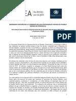 Resumen Ejecutivo Represion Sistematica y Crimenes Contra El Pueblo Pemon Venezuela