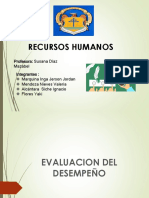 Evaluacion de Desempeño Diapositivas