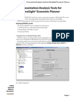 Presentation-Analysis Tools for MSEP