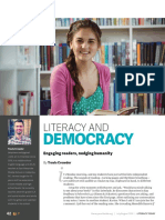 Literacy and Democracy by S. Travis Crowder