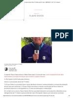Repórter Mauro Naves Deixa TV Globo Após 31 Anos - 08-07-2019 - UOL TV e Famosos
