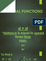 Rational Functions (General Mathemtics