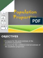 Population Proportion