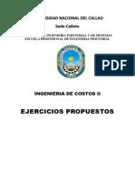Ejercicios Propuesto de Ing de Costos2