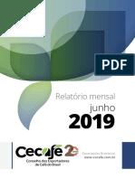 CECAFE Relatorio Mensal JUNHO 2019