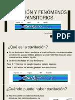 Cavitación y Fenómenos Transitorios