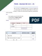 CASOS PRACTICOS - contables