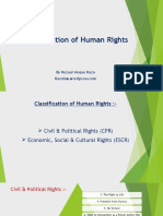 Classification of Human Rights
