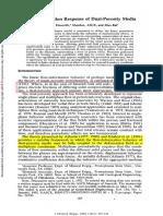 Flow-Deformation Response of Dual-Porosity Media