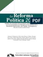 Reforma Política México 2010, 2da edición - Autores