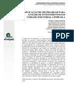 Análise de Investimentos (Artigo) - G. Batistela