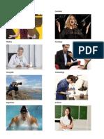 15 Profesiones y Oficios