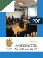 BOLETÍN Construyendo Trabajo Social N°18 - CIISETS UBB