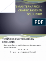 Df-13a-Sistemas Ternarios – 4 Fases en Equilibrio – Clase 1