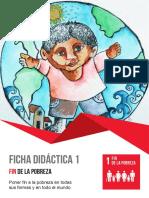 Objetivo ODS 1 Fin Pobreza 3
