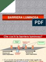 PRESENTAZIONE BARRIERA LUMINOSA