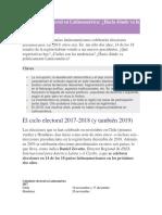 Súper Ciclo Electoral en Latinoamérica