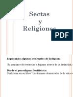 Sectas y religiones
