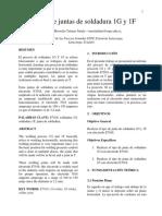 Informe 1G y 1F Con 7018